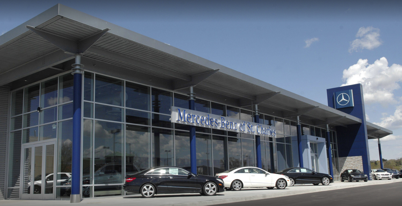 Mercedes-Benz of st. Charles Dealership Storefront