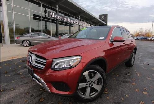 Retired Courtesy 2018 Mercedes-Benz GLC 300 4MATIC®