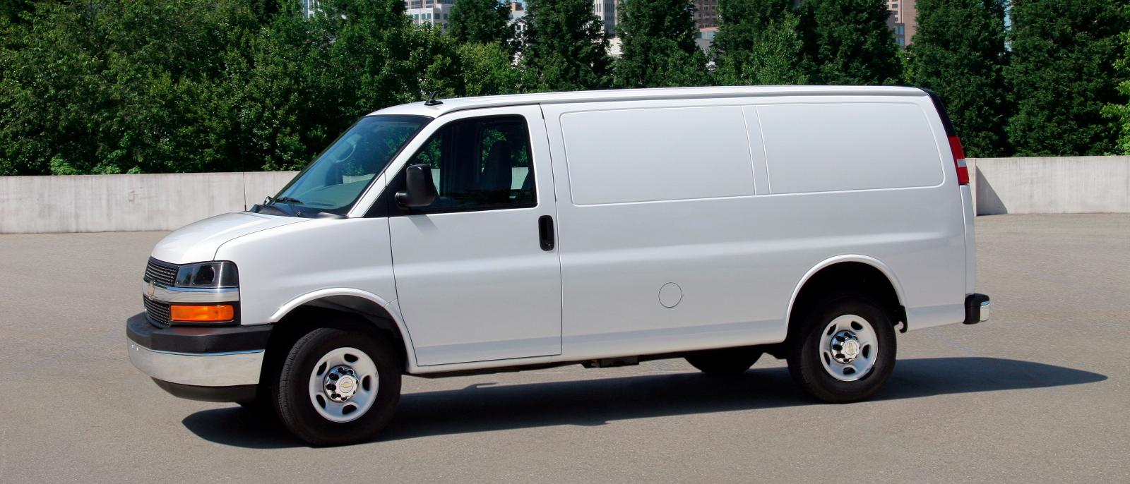 Chevrolet express cargo van chevrolet express 2500 cargo van