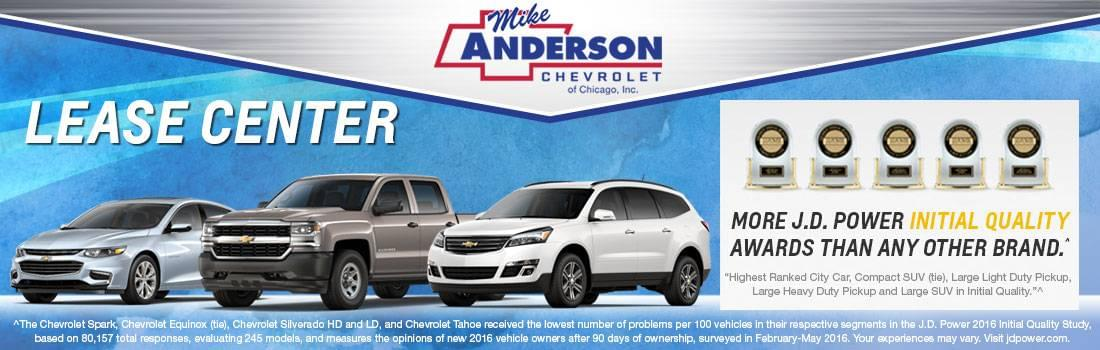 Chevrolet Lease Center Chicago