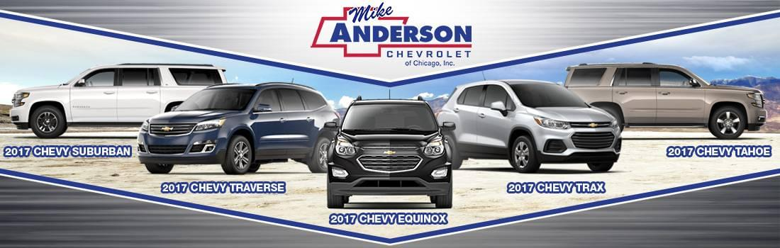 Chevrolet Suv Models Comparison In Chicago Mike Anderson