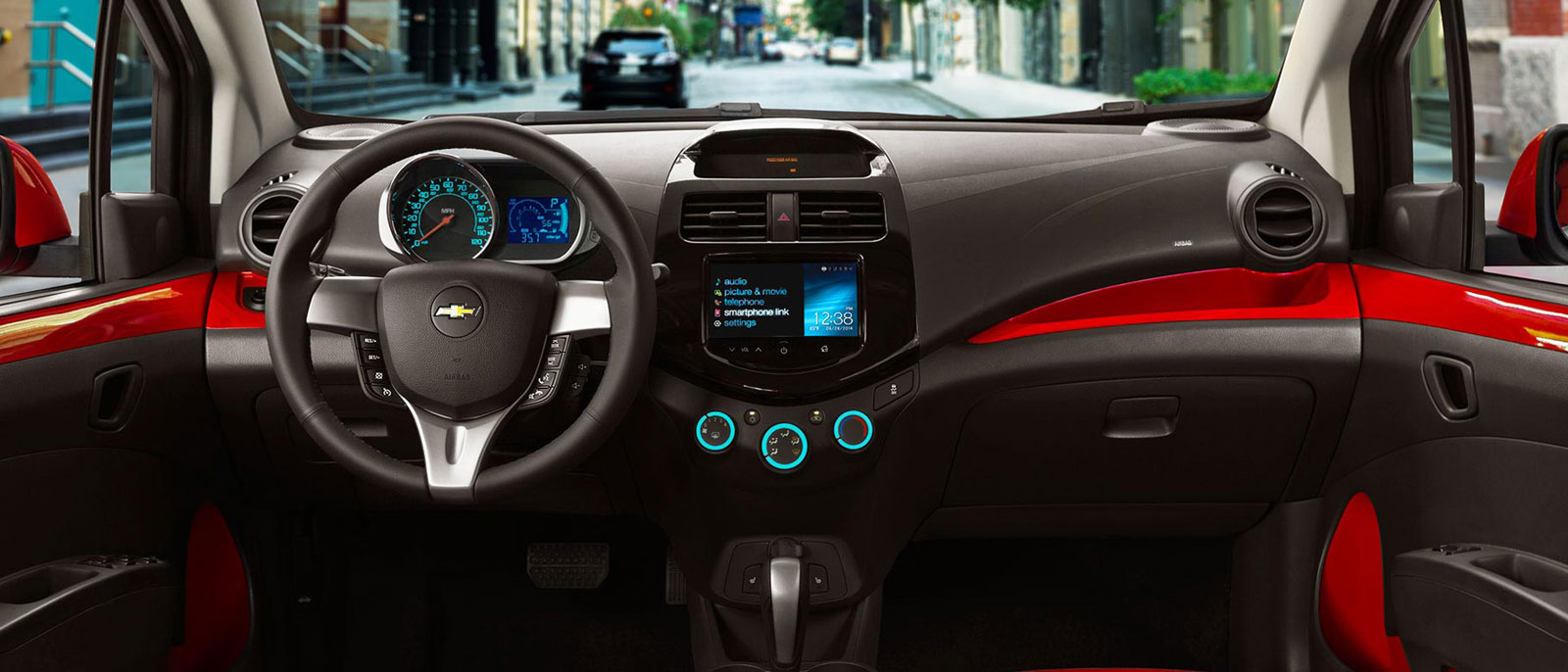 Captivating 2015 Chevrolet Spark Interior ...
