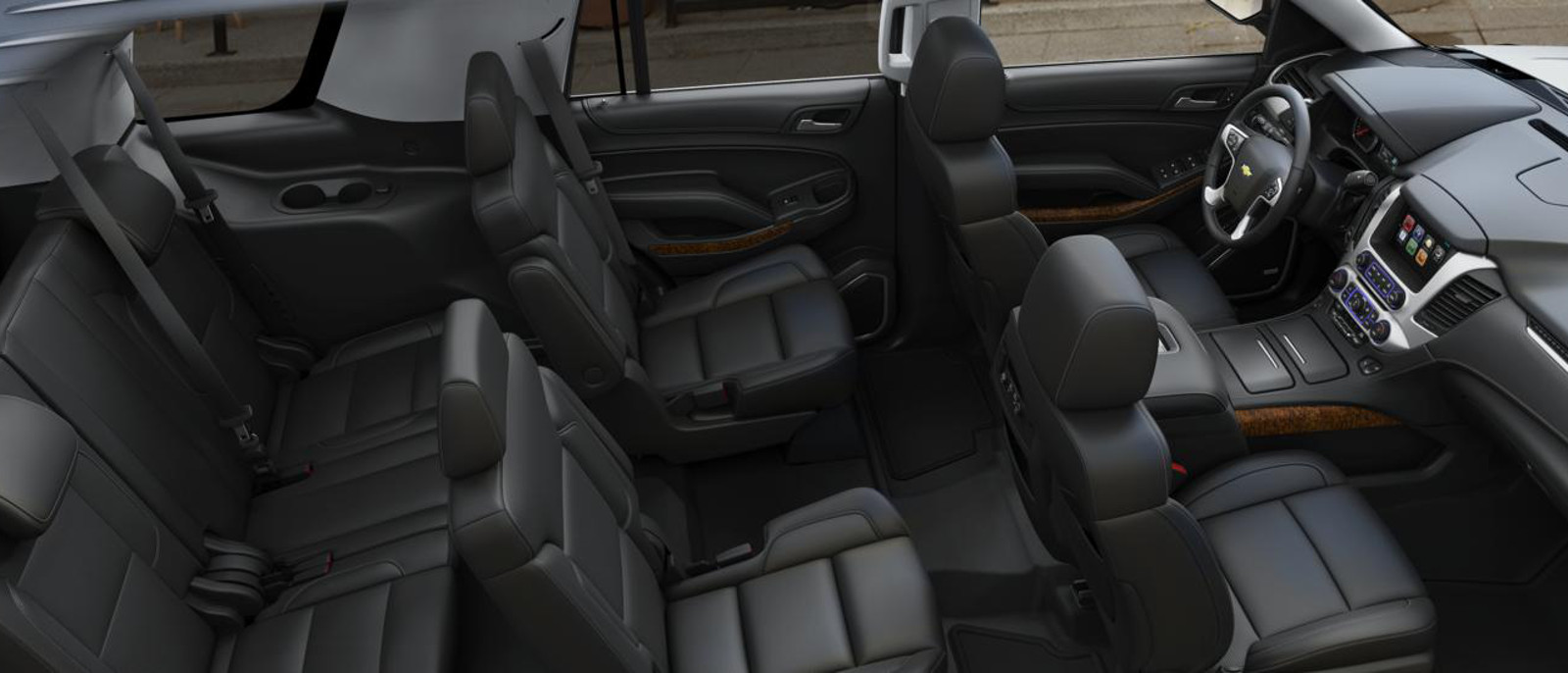 tahoe 9 passenger seating. Black Bedroom Furniture Sets. Home Design Ideas