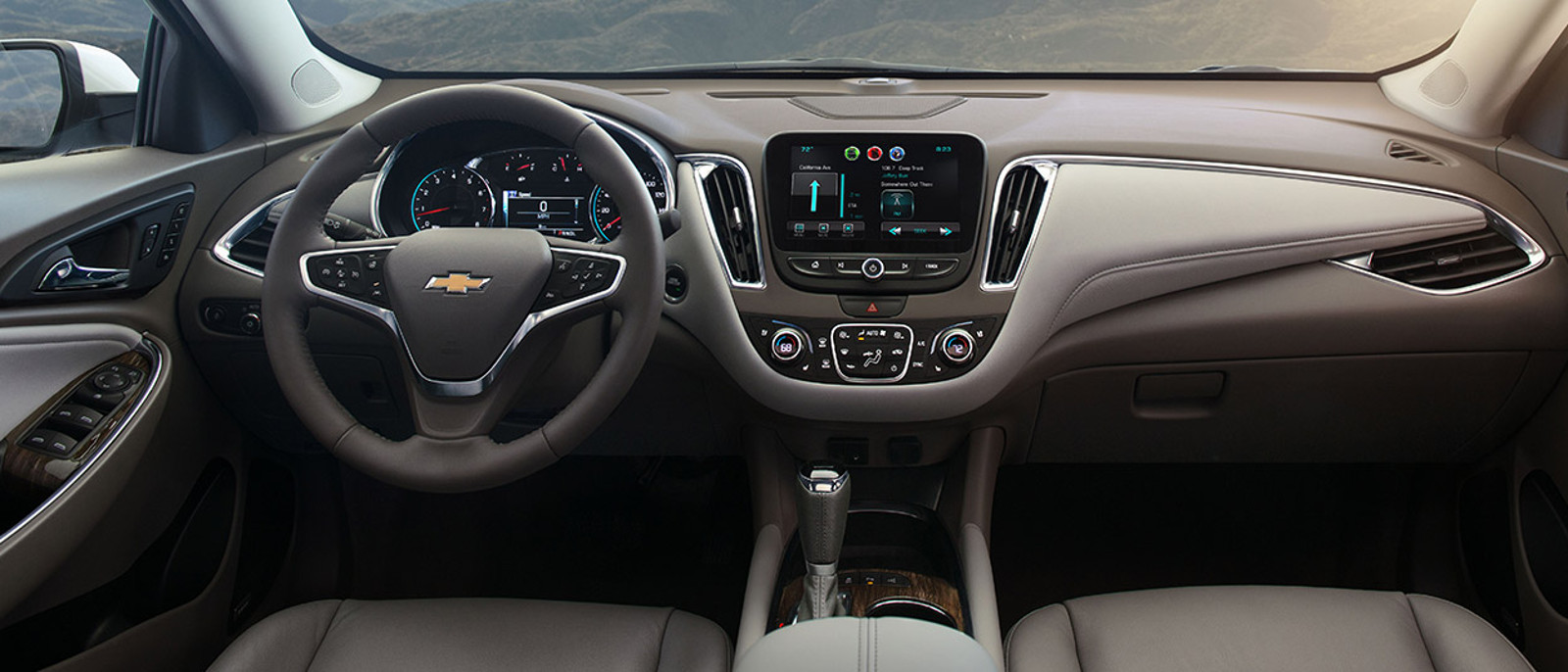 2016 Chevy Malibu Interior