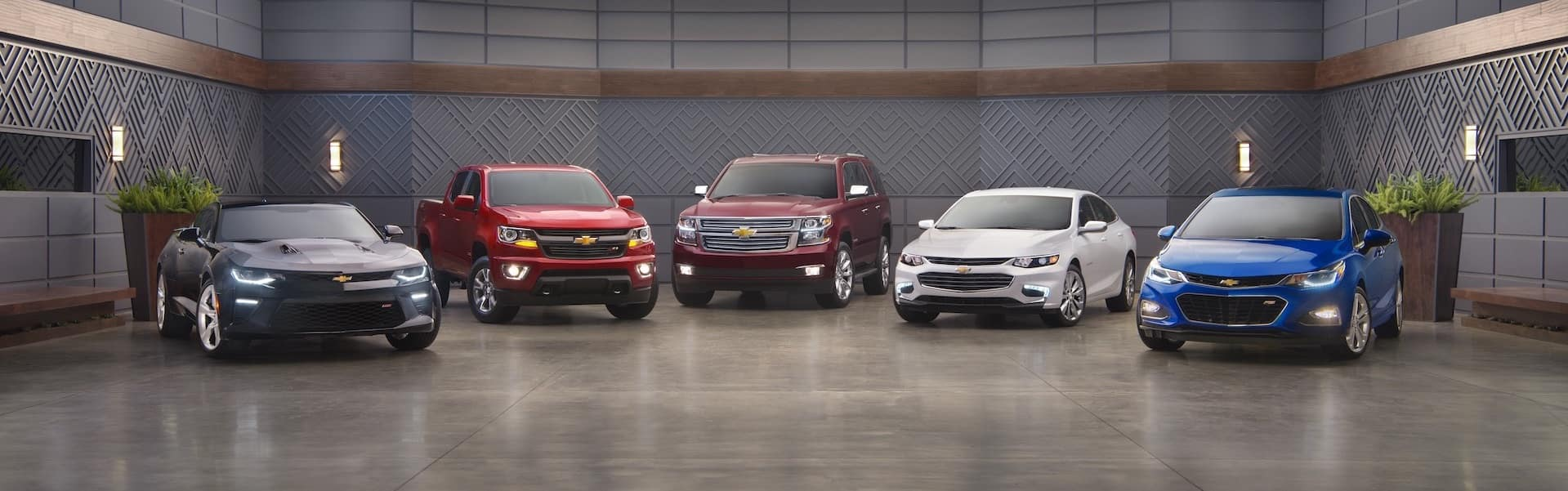 Chevrolet Model Lineup