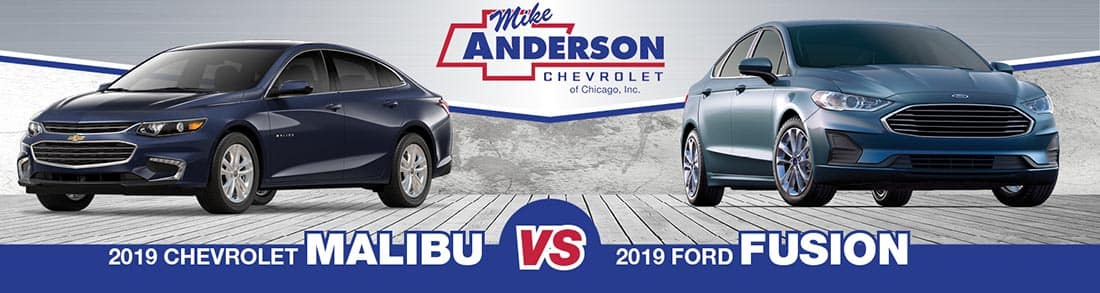 2019 Chevrolet Malibu vs. 2019 Ford Fusion