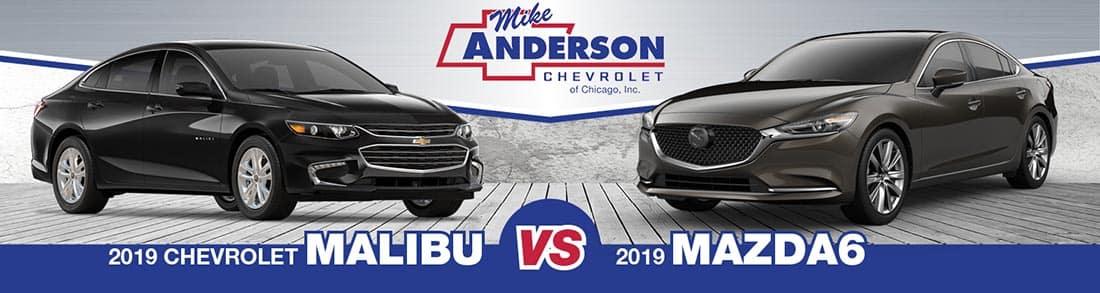Chevrolet Malibu vs. Mazda6