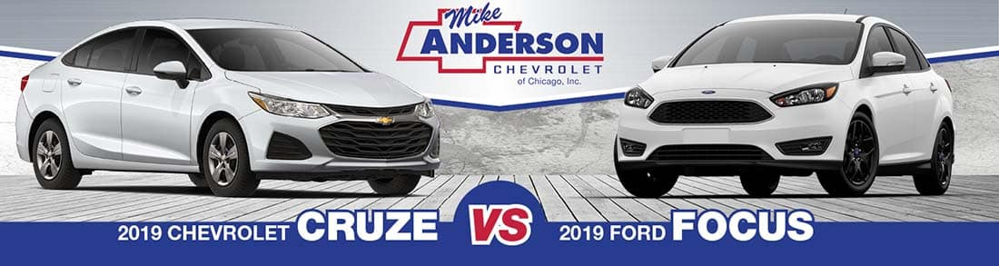 Chevrolet Cruze vs. Ford Focus