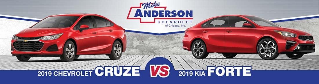 Chevrolet Cruze vs. Kia Forte
