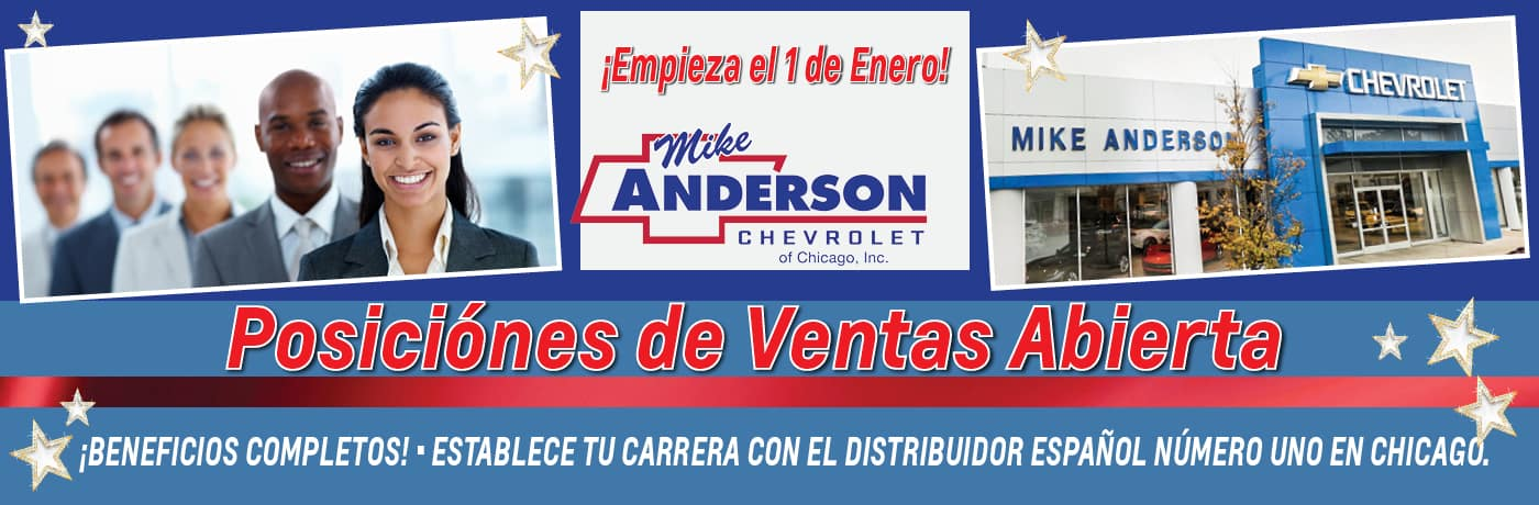 Mike Anderson Chevrolet Of Chicago >> Chevrolet Dealership In Chicago Il Mike Anderson