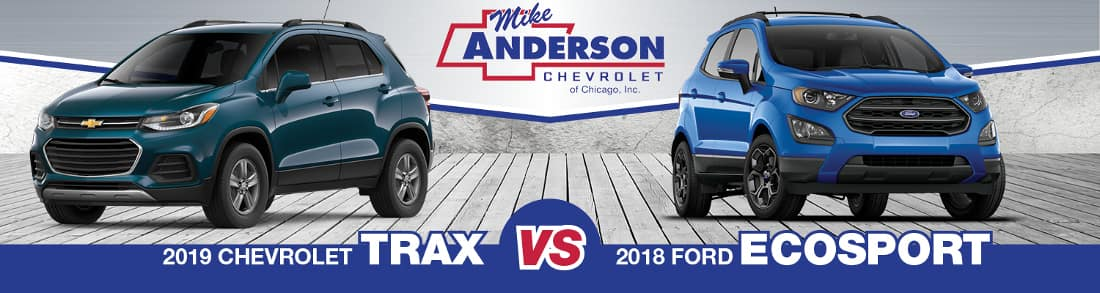 2019 Chevy Trax vs. Ford Ecosport