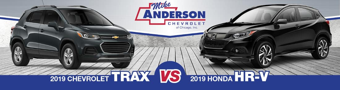 2019 Chevy Trax vs. Honda HR-V