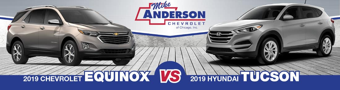 2019 Chevy Equinox vs. 2019 Hyundai Tucson