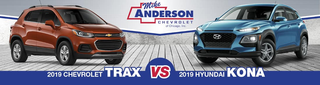 2019 Chevy Trax vs. Hyundai Kona
