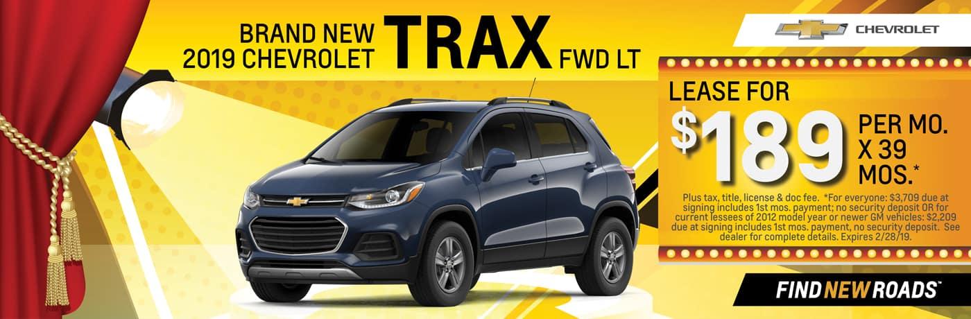 2019 Chevrolet Trax FWD LT