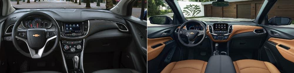 2019 Chevrolet Trax and 2019 Chevrolet Equinox Interior