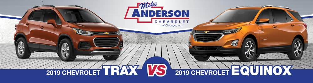 2019 Chevrolet Trax vs. 2019 Chevrolet Equinox