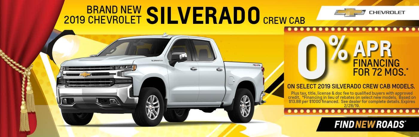 2019 Chevy Silverado Crew Cab