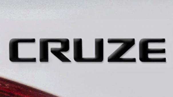 Chevrolet Cruze Black Nameplate