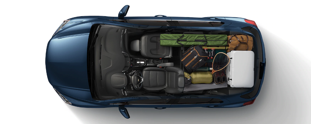 2019 Chevrolet Trax top view