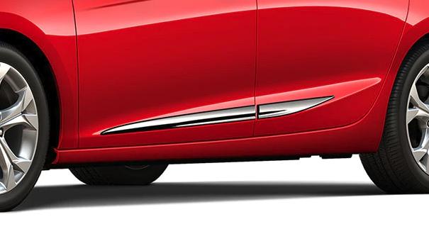 Chevrolet Cruze Chrome Bodyside Moldings