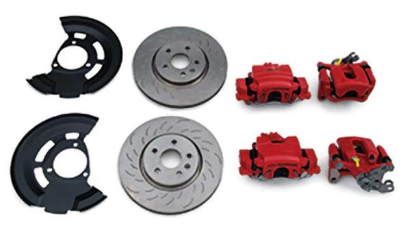 Chevrolet Cruze performance brakes
