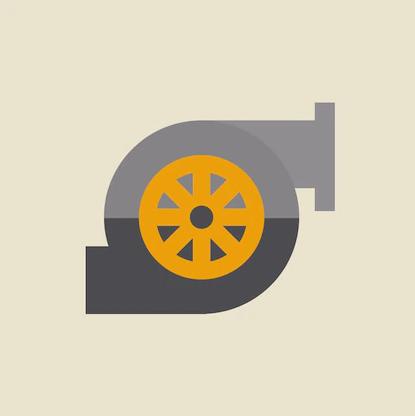 car turbo turbine