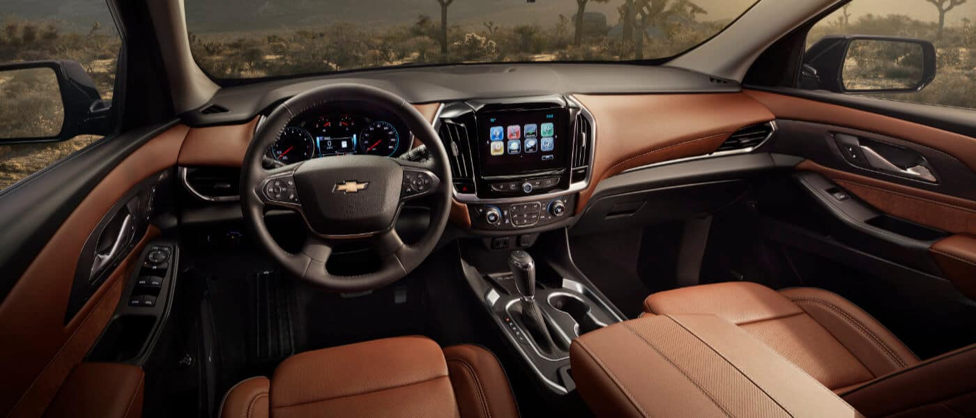 2019 Chevy Traverse Interior Dashboard
