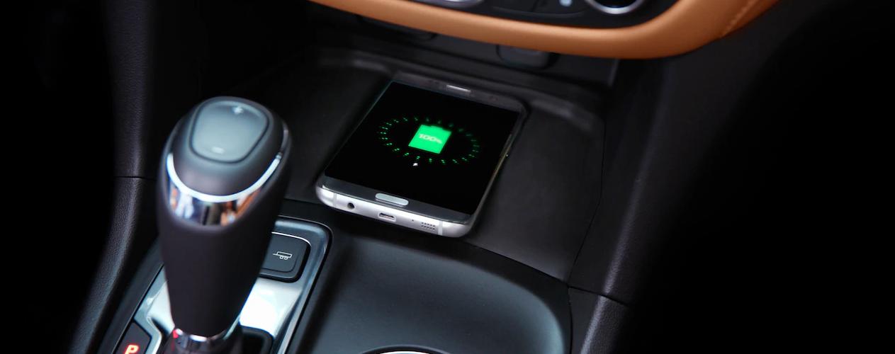 2019 Chevy Equinox wireless charging dock