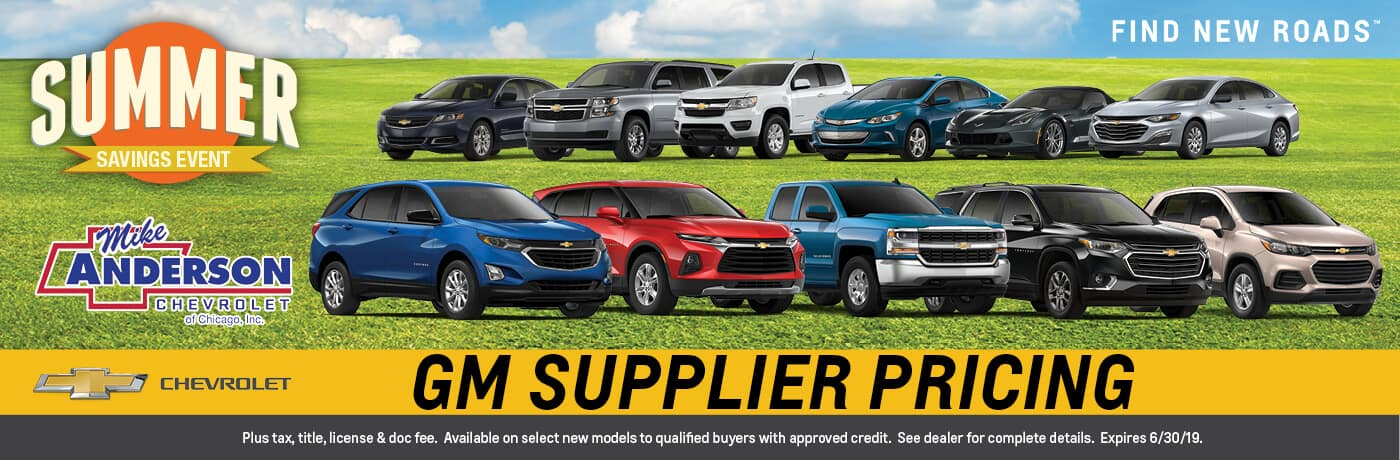 GM Supplier Pricing