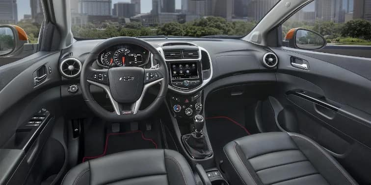 2019 Chevy Sonic Interior