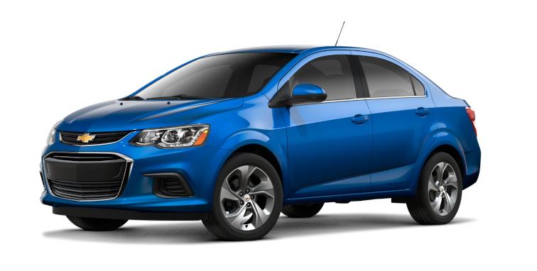 2019 Chevy Sonic Premier