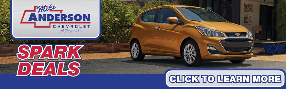 2019 Chevy Spark Lease Deals banner
