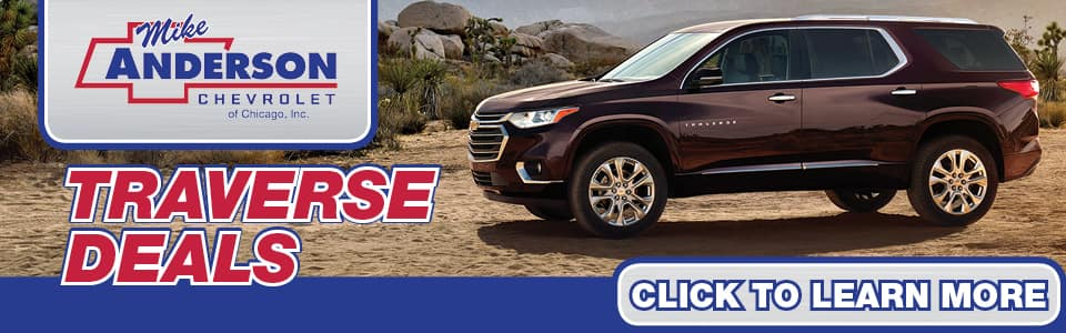 2019 Chevy Traverse Lease Deals banner