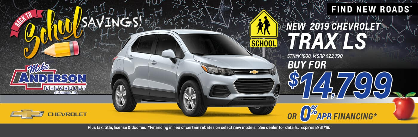 Buy a 2019 Chevrolet Trax LS for $14,799