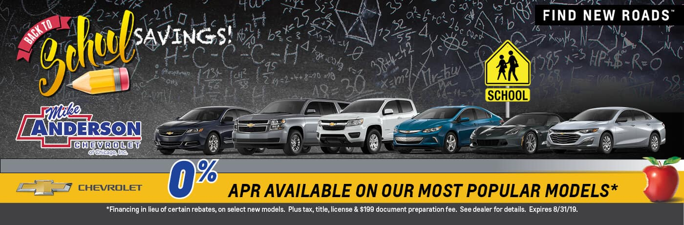 0% APR Available on out most popular models