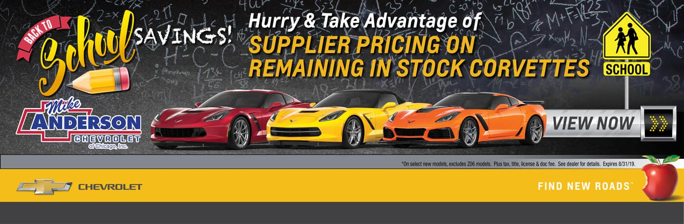 GM Supplier Pricing on All Remaining Corvettes