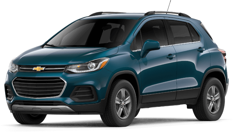 2019 Chevy Trax in Pacific Blue