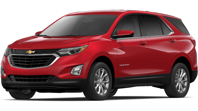 2020 Chevy Equinox in Red