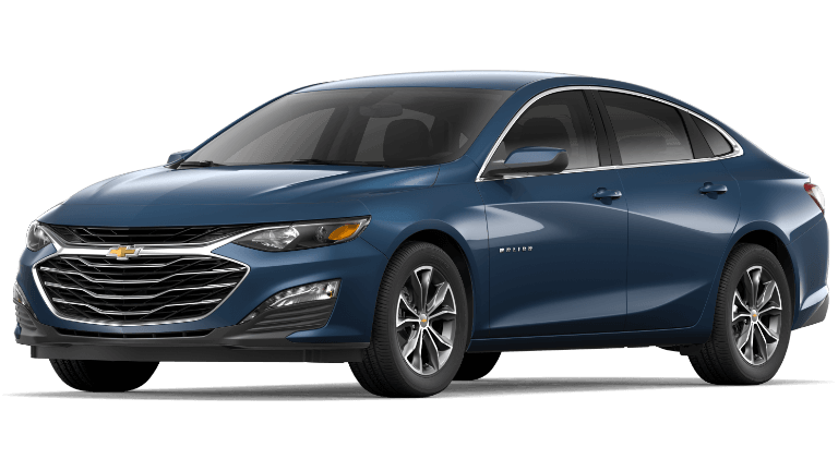 2020 Chevy Malibu in Blue