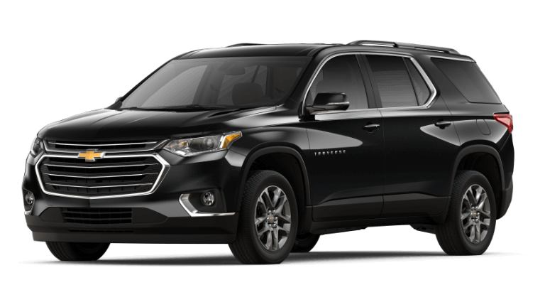 2020 Chevy Traverse LT in black