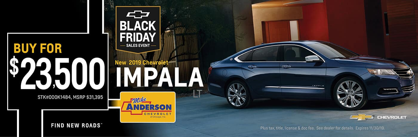 Buy a 2019 Chevrolet Impala for $23,500