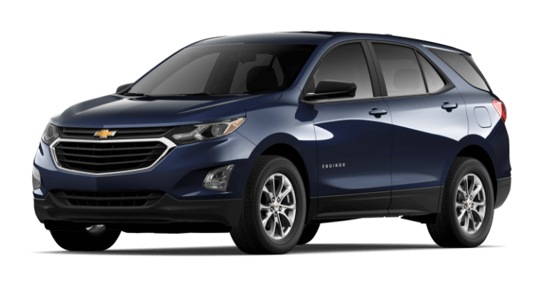 2020 Chevy Equinox LS in Midnight Blue