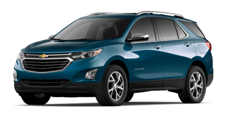 2020 Chevy Equinox Premier Pacific Blue