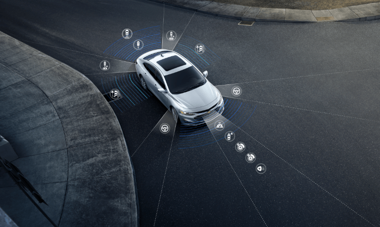 2020 Chevy Malibu safety features