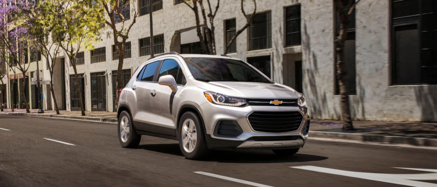 2020 Chevy Trax Exterior City Street