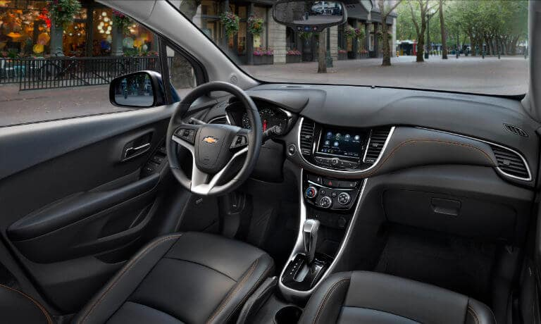 2020 Chevy Trax Interior Front View
