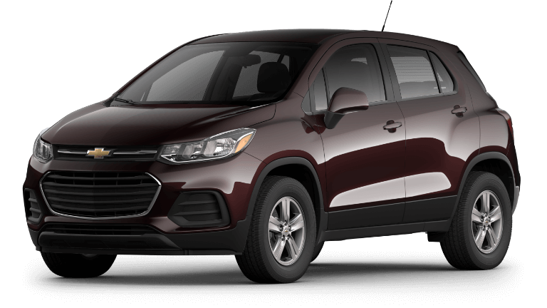 2020 Chevy Trax LS in Black Cherry
