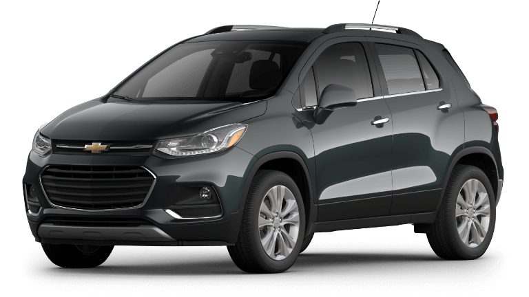 20 Chevy Trax Premier in Night fall Gray