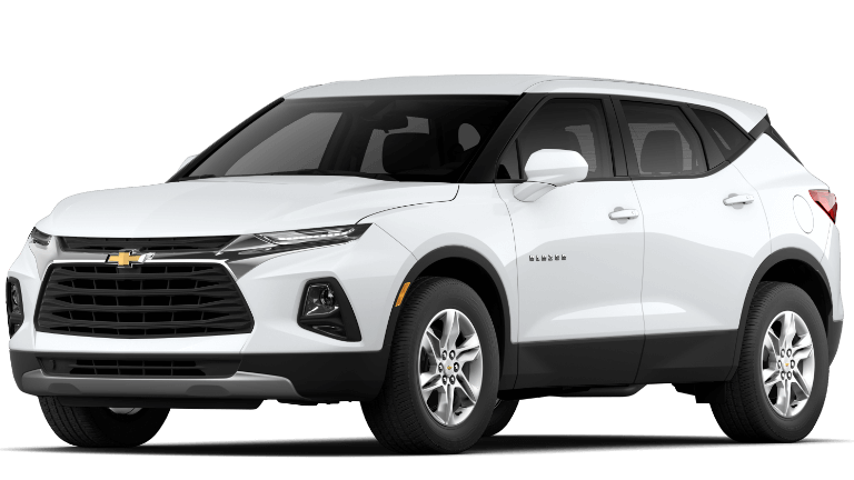 2020 Chevy Blazer L in white